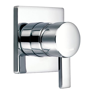 Flova STR8 Concealed Manual Shower Valve with Square Plate - 2 Outlet