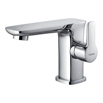 Flova Urban Basin Mixer & Clicker Waste Set