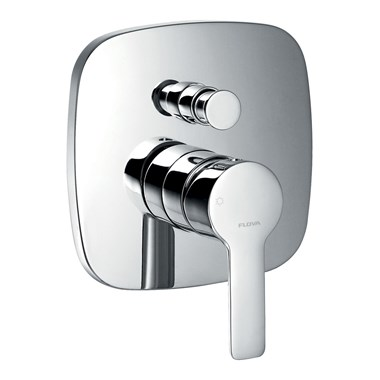 Flova Urban Concealed Manual Shower Valve With 2 Outlet Diverter & Smart Box