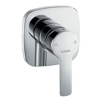 Flova Urban Concealed Manual Shower Valve - 2 Outlet