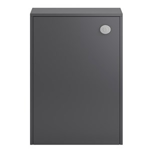 Apollo Compact 600mm Back To Wall Toilet Unit Grey