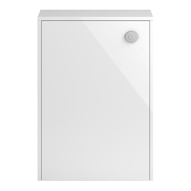 Coast 600mm Floor Standinig Back to Wall Toilet Unit - White Gloss