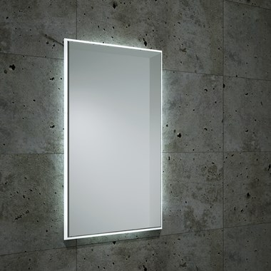 Bathroom Origins Fractal Backlit LED Mirror - 450 x 800mm