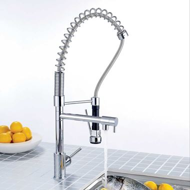 Francis Pegler Galiceno Semi-Pro Mono Sink Mixer with Swivel & Detachable Spray
