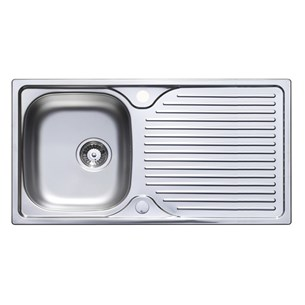 Astracast 1 Bowl Satin Polish Stainless Steel Sink