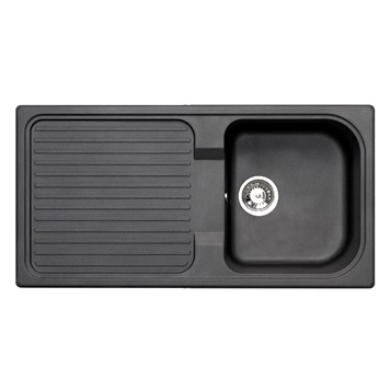 Astracast 1 Bowl Granite ROK Composite Sink - Volcanic Black