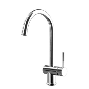 Gessi Oxygen Single Lever Mono Kitchen Mixer With Swivel 'C' Spout