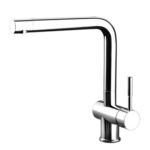 Gessi Oxygen Single Lever Mono Kitchen Mixer With Swivel Spout