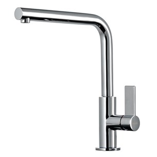 Gessi Aspire Single Lever Mono Kitchen Mixer Tap With Swivel Spout