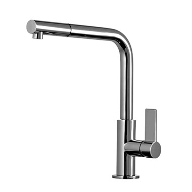 Gessi Aspire Single Lever Mono Kitchen Mixer With Swivel Spout & Pull Out Handshower