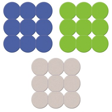 Gedy Giotto Non-Slip Shower Mat - 3 Colour Choices