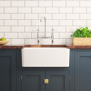 Butler & Belfast Kitchen Sinks | Single, Double, Small & Large | Tap ...