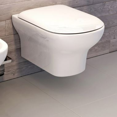 Imex Grace Rimless Wall Hung Toilet with Soft Close Seat