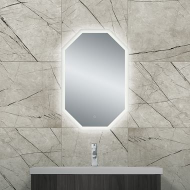 Bathroom Origins Grand Deco Backlit LED Mirror
