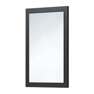 Harbour Mirror with Anthracite Grey Frame - 800 x 500mm