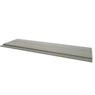 Drench Gregory 700mm 2 Piece End Panel - Grey Ash