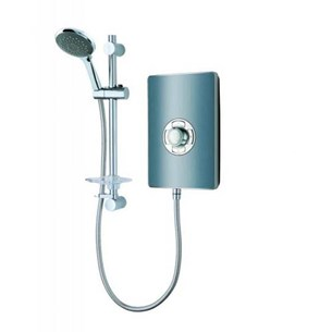 Vado Elegance Electric Shower - Grey and Chrome