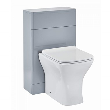 Harbour Identity 500mm Back to Wall Toilet Unit - Pebble Grey