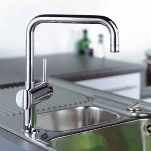 Grohe Minta Single Lever Mono Sink Mixer with Swivel Spout