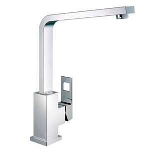 Grohe Eurocube Single Lever Mono Sink Mixer With Swivel Spout - Chrome