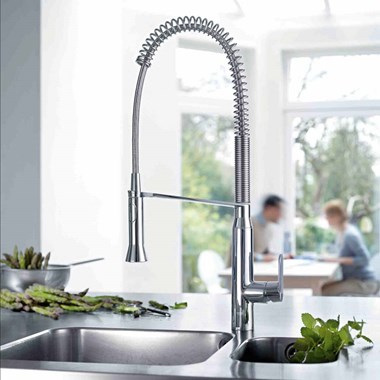 Grohe K7 Professional Mono Sink Mixer With Flexible Pull Out Spray