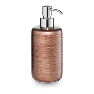 Bathroom Origins Silk Copper Brown Soap Dispenser