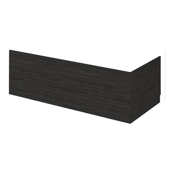 Drench Emily 1700mm Bath Front Panel - Hacienda Black