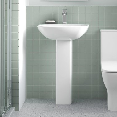 Harbour Alchemy 550mm Full Pedestal & Basin
