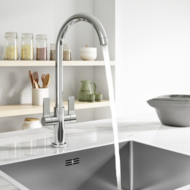 Harbour Alchemy Kitchen Mono Mixer Tap - Chrome