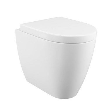 Harbour Clarity Back to Wall Toilet & Soft Close Seat