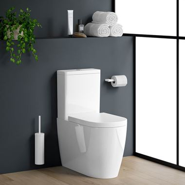 Harbour Clarity Fully Back to Wall Toilet & Soft Close Seat