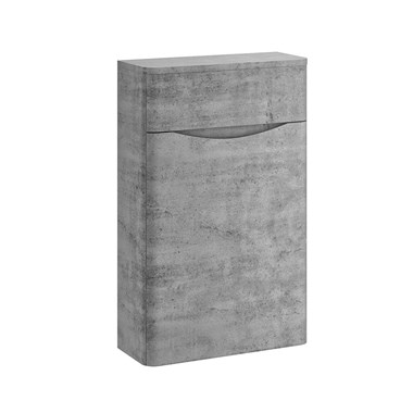 Harbour Clarity 500mm Back to Wall WC Unit - Concrete
