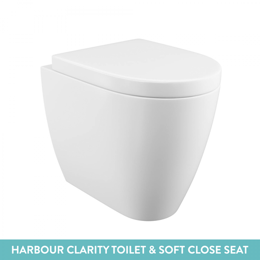 Harbour Icon 1100mm Combination Bathroom Toilet & Sink Unit