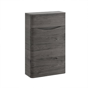 Harbour Clarity 500mm Back to Wall WC Unit - Graphite Oak