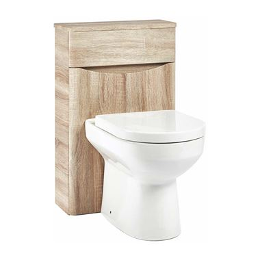 Harbour Clarity 500 WC Unit - Bardolino Driftwood Oak