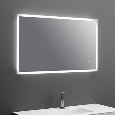 Harbour Glow LED Mirror with Demister Pad & Colour Change LEDs - 1000 x 600mm