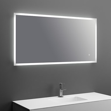 Harbour Glow LED Mirror with Demister Pad & Colour Change LEDs - 1200 x 600mm