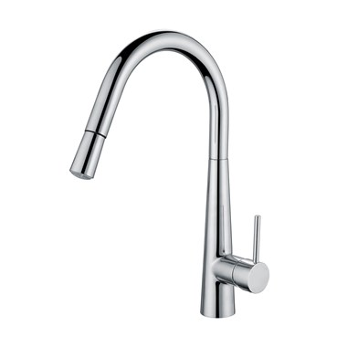Harbour Glow Single Lever LED Mono Kitchen Mixer with Pull Out Hose