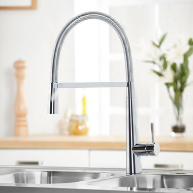 Harbour Grace Pull Out Kitchen Tap with Flexible Multi-Function Spray