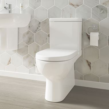 Harbour Grace Rimless Toilet with Soft Close Seat