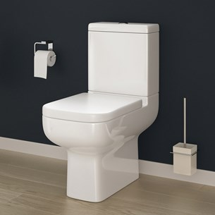 Harbour Icon Space-Saving Toilet with Soft Close Seat