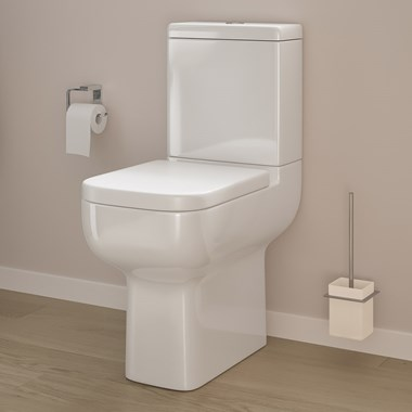 Harbour Icon Comfort Height Toilet with Soft Close Seat