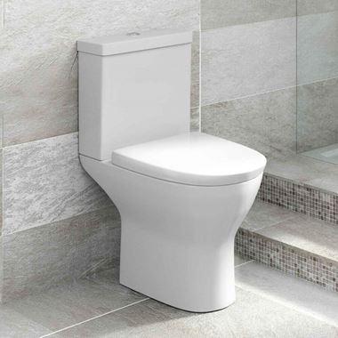 Harbour Identity Short-Projection Toilet with Soft-Close Seat