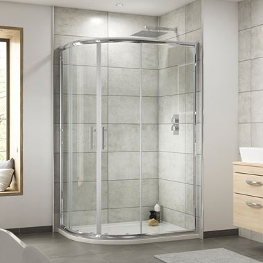 Harbour Primrose 6mm Offset Quadrant Shower Enclosure
