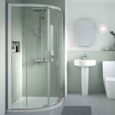 Harbour Primrose 6mm Quadrant Shower Enclosure