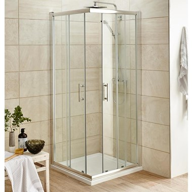 Harbour Primrose Corner Entry Shower Enclosure