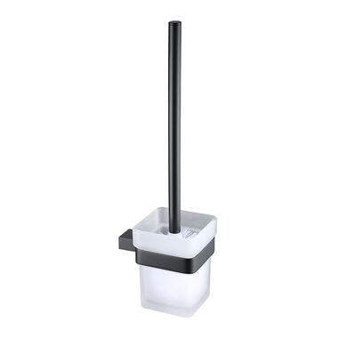 Harbour Status Matt Black Toilet Brush