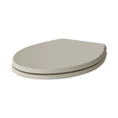 Butler & Rose Soft Close Toilet Seat - Dovetail Grey