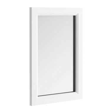 Butler & Rose Mirror with Arctic White Frame - 900 x 600mm