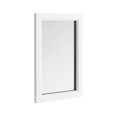 Butler & Rose Charlotte Mirror with Almond White Frame - 900 x 600mm